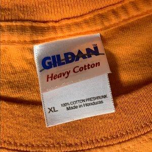 Gildan Shirts - Vintage Tampa Bay buccaneers orange shirt size XL